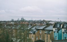 A view of London from The Queens Hotel at Finsbury Park • Jake Powell © 2016 • 35mm Film Photography •