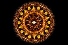 Fractal mandala of Sacral Chakra by ~Xenodreaming on deviantART