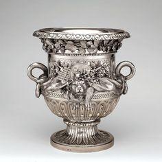 Ignaz Joseph Würth (1742-1792), Austrian, Wine Cooler, Vienna, 1781 Silver Overall: 11 15/16 x 9 7/8 in. (30.3 x 25.1 cm),   The Metropolitan Museum of Art, Purchase, Anna-Maria and Stephen Kellen, Foundation Gift, 2002