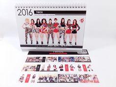 TWICE Photo 2016 2017 Desk (White) Calender Calendar New Year Gift Kpop