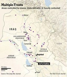 Iraq struggles to halt Islamic State militants' march on Baghdad from the south http://on.wsj.com/1ldYItD