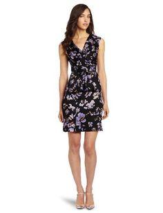 Amazon.com: Tracy Reese Women's Surplice Peplum: Clothing