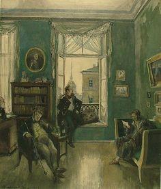 Aleksandr Nikolaevich Benois  White Nights  1939