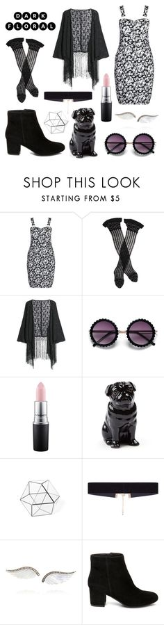 """Outfit #162"" by justsometipsforyou ❤ liked on Polyvore featuring City Chic, Trasparenze, MANGO, MAC Cosmetics, Quail, 8 Other Reasons, Noor Fares, Steve Madden and plus size dresses"