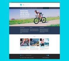 Diseño web de Betraining