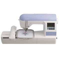 Brother PE770 5x7 inch Embroidery-only machine with built-in memory, USB port, 6 lettering fonts and 136 built-in designs Brother