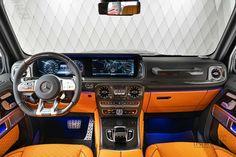 Illuminated Signs, Benz G, Hamburg Germany, Roof Light, Luxury Suv, Brake Calipers, Wheel Cover, Back Seat, Orange Leather