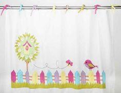 A Loja do Gato Preto   Cortinado Ms. Birdie @ Ms. Birdie Curtain  #alojadogatopreto