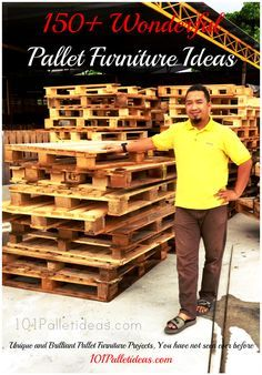 150+ Pallet Furniture Ideas and Projects to Decorate your Home at no Cost - 101…