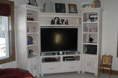 Somewhat of what I'd like for the entertainment center.