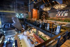 Khmeli-Suneli Restaurant by Seventh Studio, Kiev – Ukraine » Retail Design Blog