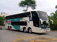 1001: atual líder na rota Rio de Janeiro-São Paulo, com autocarros modernos e confortáveis.