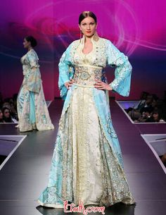 Morocco wedding dress