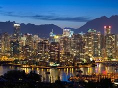 Vancouver. Such a vibrant blend of nature and metropolitan feel. Culture, art, food and nature!