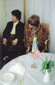 Bill Wyman & Brian Jones