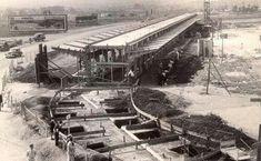 Década de 30 - Construção do Aeroporto de Congonhas.
