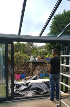 lean to Garden room How to extend your home with style for less than you might think. Alice in Scandiland Cedar Pergola, Rustic Pergola, Curved Pergola, Pergola Patio, Pergola Kits, Pergola Ideas, Patio Ideas, Decking Ideas, Pergola Plans
