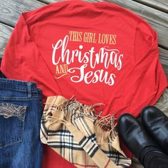Excited to share the latest addition to my #etsy shop: Christmas Shirts, Christian Shirt, Christmas Gifts, Christmas Presents, Secret Santa, Womens Christmas Shirt, Matching Christmas, Christmas etsy.me/2R40XHx #christmasshirts #jesusshirt #christmasgifts