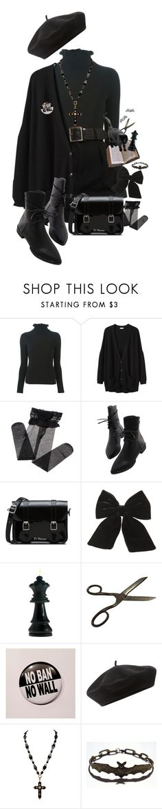 """""""xxvi"""" by ziouxsie ❤ liked on Polyvore featuring Emporio Armani, Organic by John Patrick, Dr. Martens, Topshop, Accessorize and Retrò"""