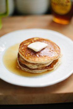 Guilt free fluffy gluten free pancakes