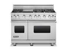 "Love this stove! 48""W. Sealed Burner Gas Range (VGCC) in 12 Exclusive Finishes - Viking Range, LLC"