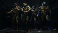 Making the Case For A Teenage Mutant Ninja Turtles Fighting Game: Fighters in a half shell, TURTLE POWER.
