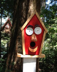 Decorative Birdhouse. $25.00, via Etsy.