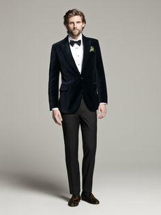 CH Carolina Herrera for Men Otoño Invierno 2013 #BoulevardJockey #Men #Fashion #Black #Formal #Suit