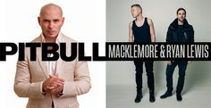 Pitbull and Macklemore and Ryan Lewis are going to be at Preakness...ummm I might have to go this year