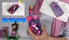 Fundas de móvil decoradas con esmalte de uñas