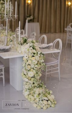 Ideas for wedding table flowers white vases Wedding Table Flowers, Wedding Chairs, Wedding Centerpieces, Wedding Decorations, Wedding Reception Games, Wedding Ideas, Clear Chairs, Wedding Planning Checklist, Flower Backdrop