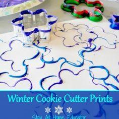 Winter Cookie Cutter Art