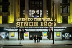 Image result for selfridges open to the world since
