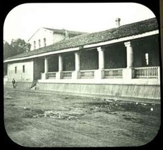 [A View of the Mission of San Luis Obispo De Tolosa.] - Early Vintage Photos of SLO Mission - - click the link there is definitely some other cool photos. Camino Real, California Missions, Morro Bay, Indian Heritage, Central Coast, Spanish Colonial, San Luis Obispo, National Museum, Santa Barbara