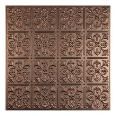 Shop Ceilume 1019220 Fleur-de-lis Ceiling Tile, 2-ft x 2-ft Lay-in or Glue up at Lowe's Canada. Find our selection of ceiling tiles at the lowest price guaranteed with price match + 10% off.