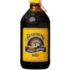 Bundaberg Australian Root Beer is distinct as it comes in a unique stubby bottle with a metal pull cap. Traditionally brewed to a genuine old recipe from real sarsaparilla root, licorice root, vanilla