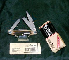 "Schrade 34OT Knife Junior Stockman 3-5/16"" 1970's W/Original Packaging Papers @ ditwtexas.webstoreplace.com"