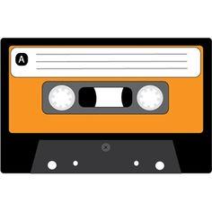Silhouette Design Store: retro cassette tape
