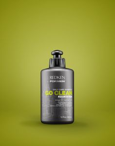 Redken for Men Go Clean Daily Care Moisturizing Shampoo gently cleanses and eliminates dirt. Its advanced formula contains protein and glycerin for stronger and brighter hair.