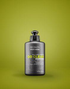 Gentle shampoo for men