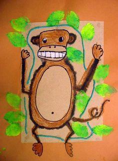 First grade fuzzy monkey