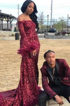 Babyonlinewholesale offers Sexy Off-the-shoulder Burgundy Shining Sequined Long Prom Dress with Fur at a cheap price from Sequined to A-line Floor-length them. Stunning yet affordable Long Sleeves Prom Dresses. Cheap Bridesmaid Dresses Online, Sequin Prom Dresses, Prom Dresses Long With Sleeves, Mermaid Prom Dresses, Perfect Wedding Dress, Cheap Wedding Dress, See Through Prom Dress, Trendy Dresses, Formal Dresses