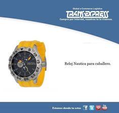Un reloj de la reconocida marca náutica para ese hombre con estilo. Costo del artículo puesto en El Salvador $147.38 http://amzn.com/B00361FWBW