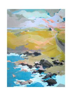 favorite artwork (abstract landscape painting)
