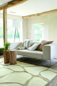 Tapis Ligne Pure Vitalize Create Blanc, tapis de qualité sur Universdutapis.com