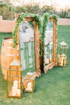 Featured Photographer: Elyse Hall Photography; wedding reception seating chart idea