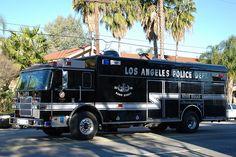 LAPD, bomb squad
