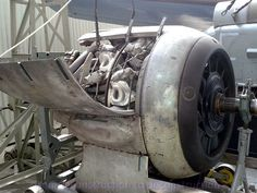 Deconstruction, Gray Background, Cannon, Colorful Backgrounds, Bmw, Planes, Engine, Airplanes, Motor Engine