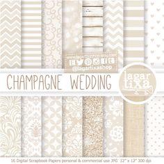https://www.etsy.com/mx/listing/215894209/boda-champagne-papel-para-invitaciones #papers #weddinghour #weddinginvitations #digitalpaper #bridetobe #patterns #bodas #novia