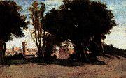 "New artwork for sale! - "" Corot Jean Baptiste Camille Rome Le Colisee Vu Des Jardins Farnese by Jean Baptiste Camille Corot "" - http://ift.tt/2potRpV"